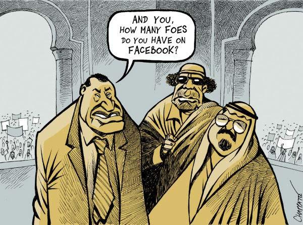 Egypt riots cartoon