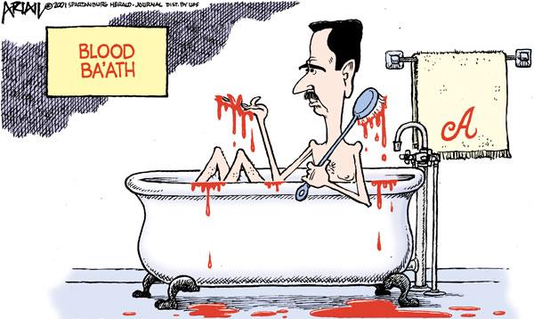 Assad cartoon